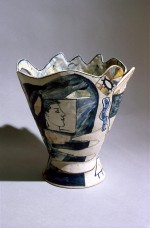 Vase 1982 by Stephen Benwell