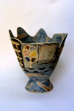 Large Vase 1983 by Stephen Benwell
