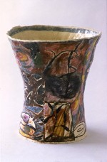 Vase 1984 by Stephen Benwell