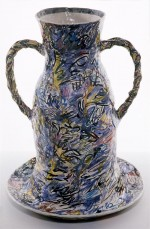 Vase 1987 by Stephen Benwell