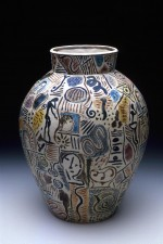 Vase 1988 by Stephen Benwell