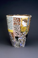Large vase 1994 by Stephen Benwell