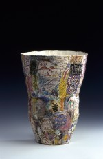 Large vase 1996 by Stephen Benwell