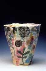 Large vase 1997 by Stephen Benwell