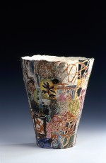 Large vase 1998 by Stephen Benwell
