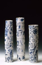 Three vases 2002 by Stephen Benwell