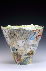 Large vase 2002 by Stephen Benwell