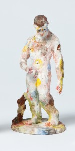statue, male nude 2009 by Stephen Benwell