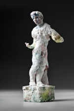 statue, male nude 2011 by Stephen Benwell
