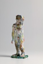 Statue, male nude 2007 by Stephen Benwell